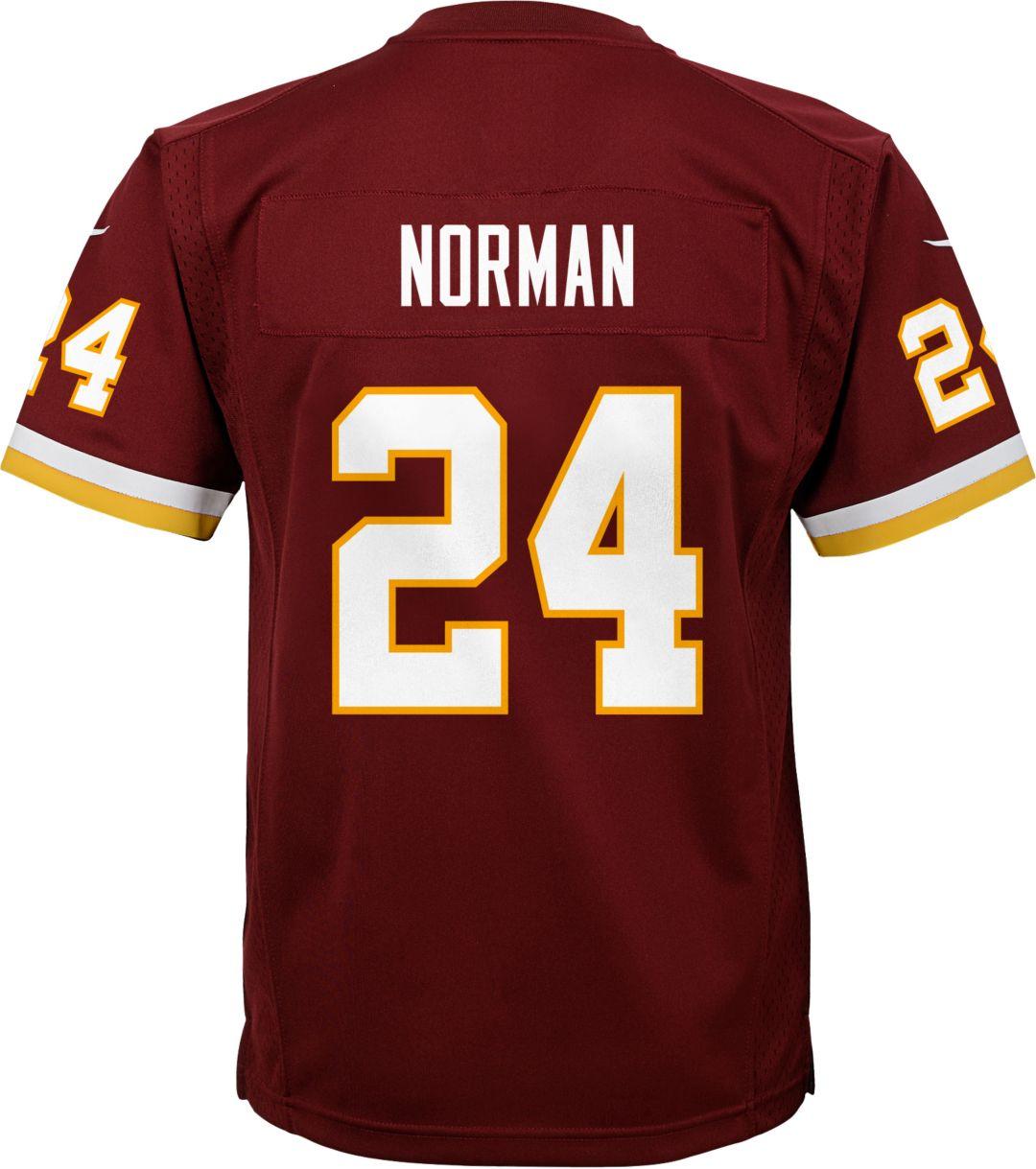 wholesale dealer ff2c4 f47c9 Nike Youth Home Game Jersey Washington Redskins Josh Norman #24