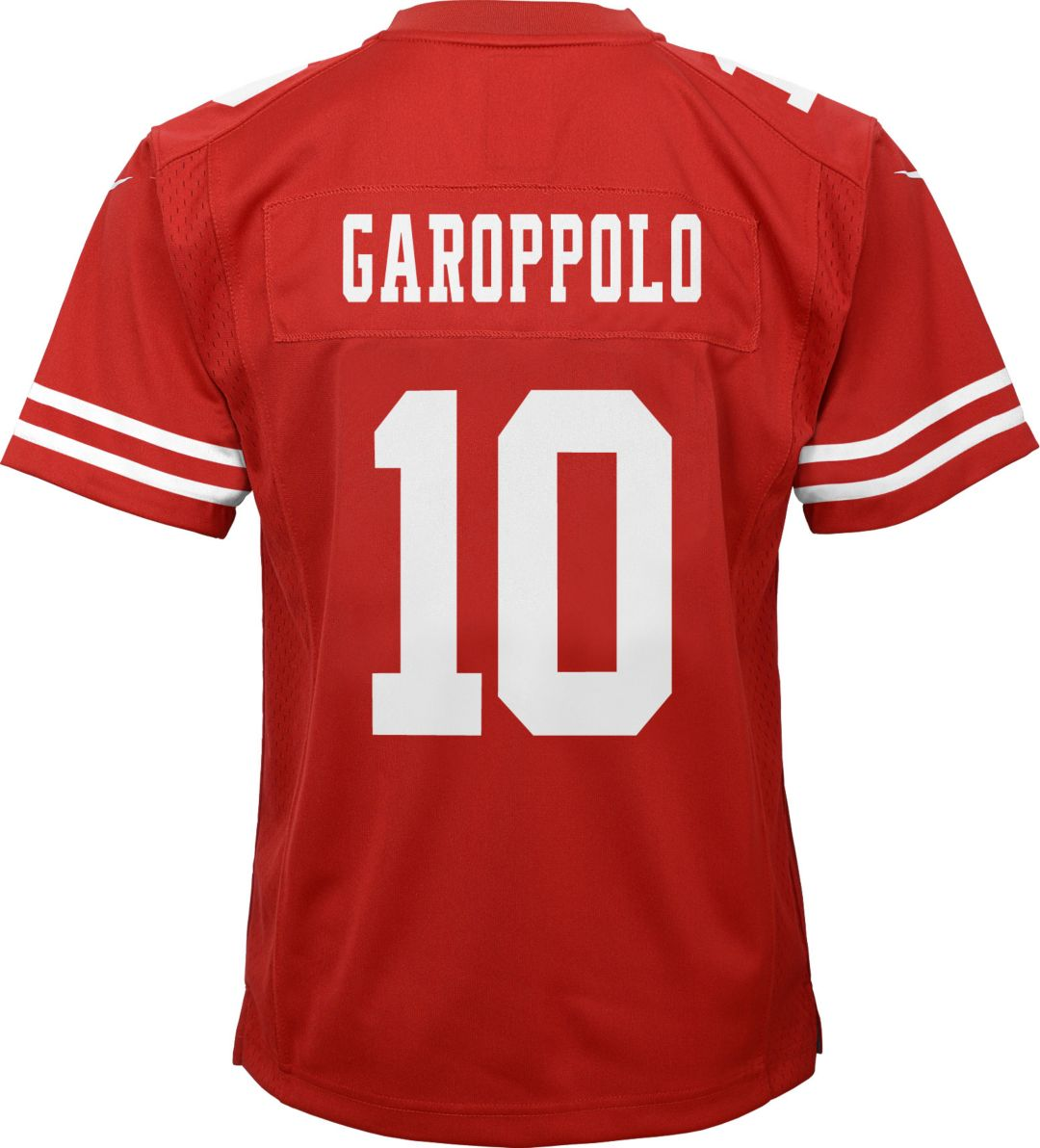 finest selection 837ef 50c43 Nike Youth Home Game Jersey San Francisco 49ers Jimmy Garoppolo #10