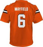 NFL Team Apparel Youth Replica Cleveland Browns Baker Mayfield #6 Orange Jersey product image