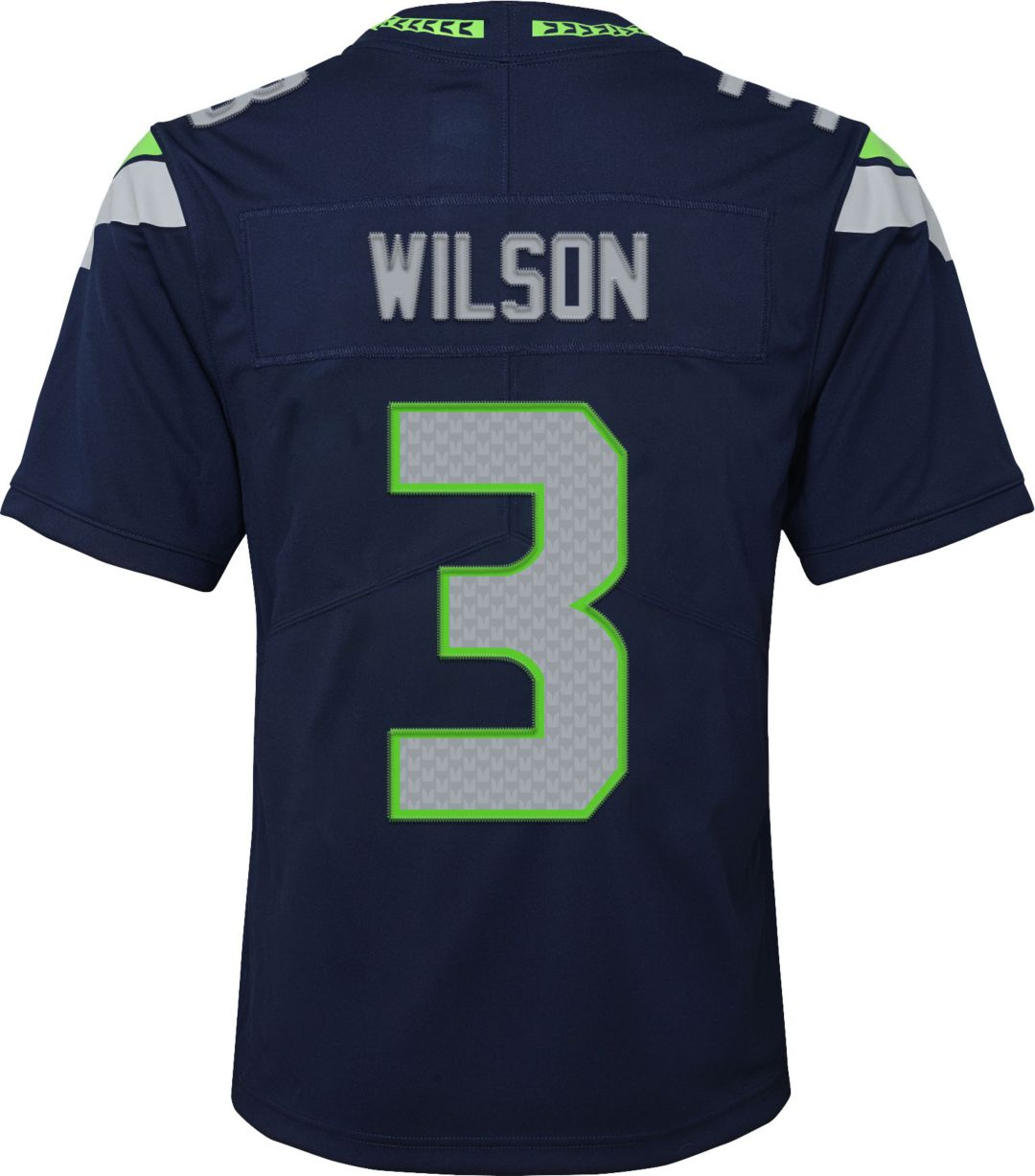 8d9f546ff16 Nike Youth Home Limited Jersey Seattle Seahawks Russell Wilson #3 ...