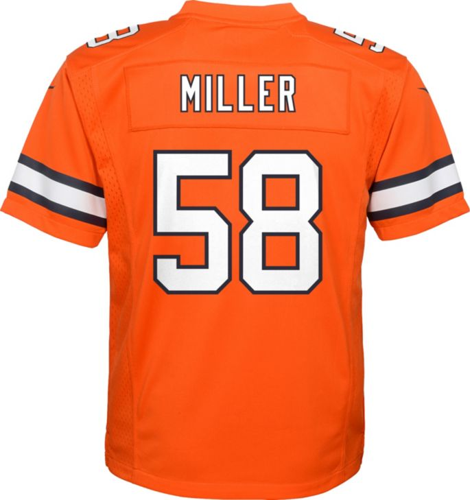 Nice Nike Youth Color Rush Game Jersey Denver Broncos Von Miller #58  free shipping
