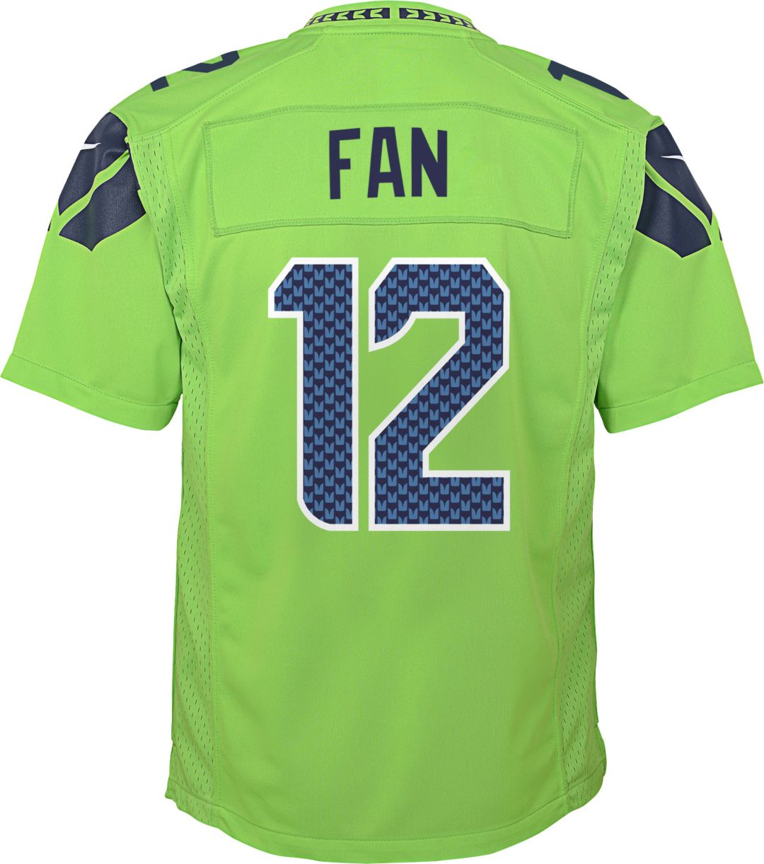 low priced 23877 0ad41 Nike Youth Color Rush Game Jersey Seattle Seahawks Fan #12