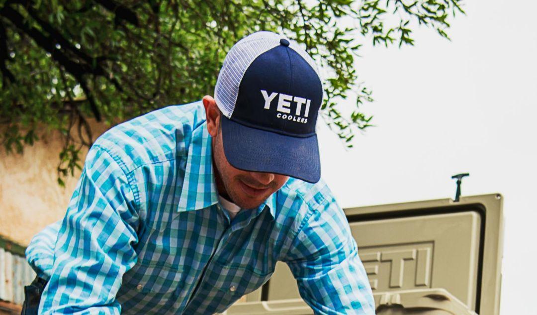0287b2c07 YETI Men's Traditional Trucker Hat