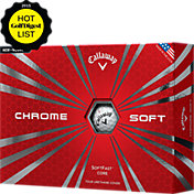 Callaway Chrome Soft Golf Balls – Prior Generation