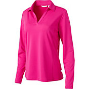 Lady Hagen Women's Essential Long Sleeve Golf Polo