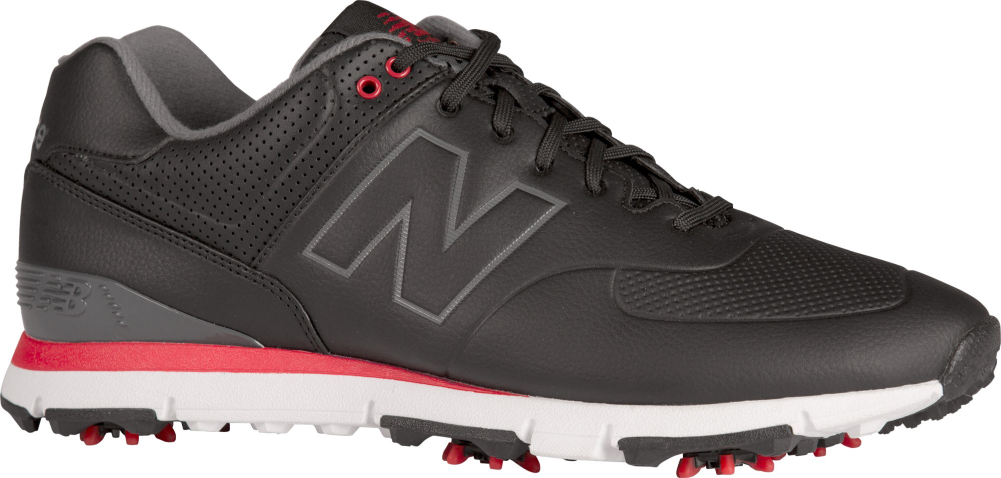 new balance leather 574 golf shoes