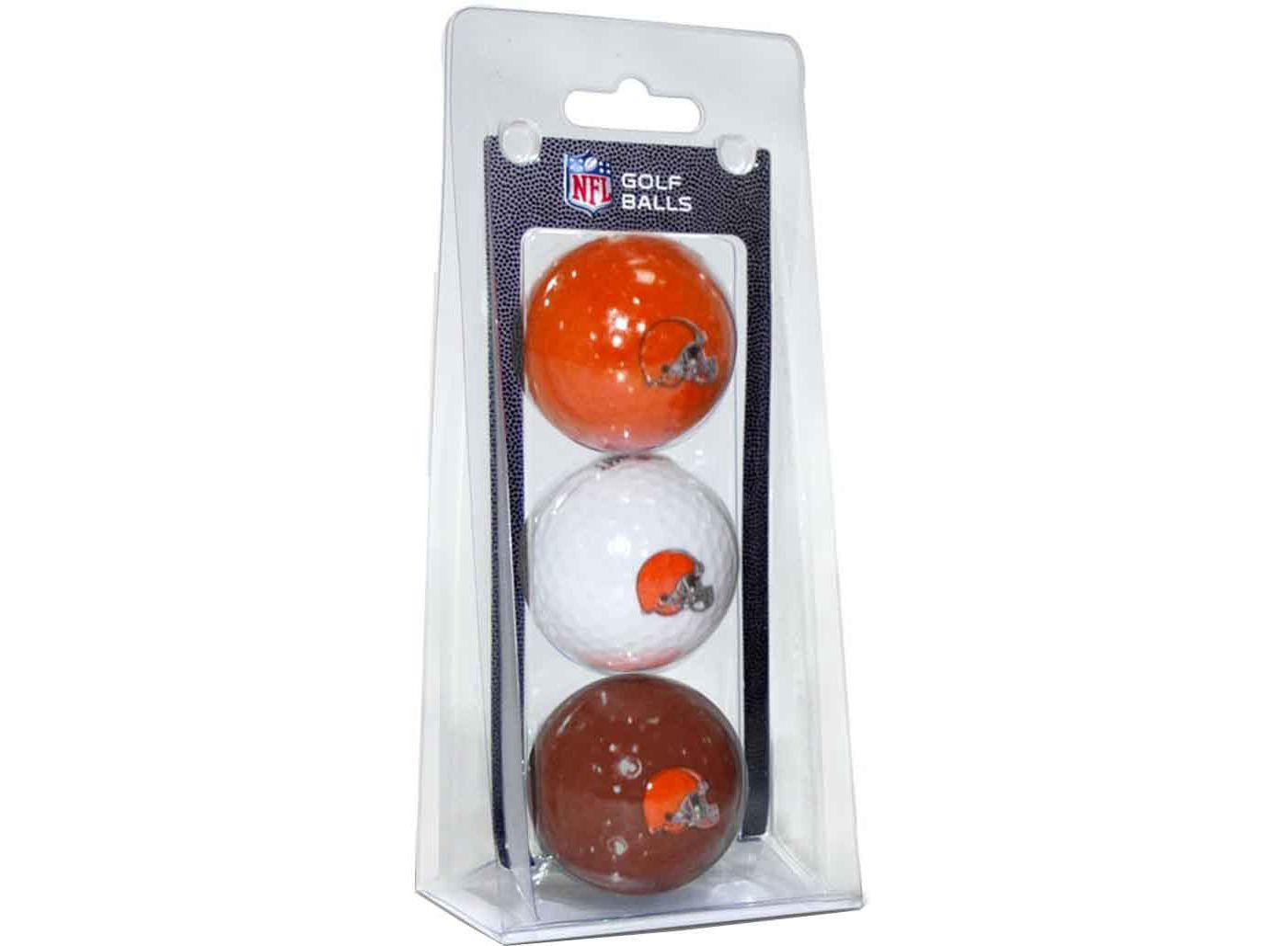 Team Golf Cleveland Browns Golf Balls – 3 Pack
