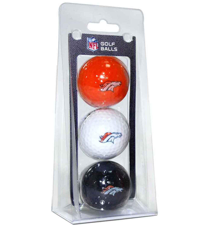 Team Golf Denver Broncos Golf Balls – 3 Pack