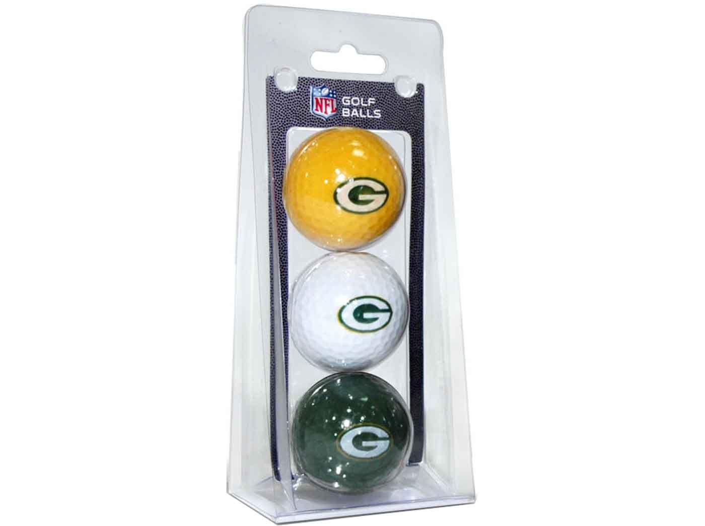 Team Golf Green Bay Packers Golf Balls – 3 Pack