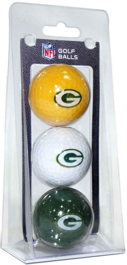 Team Golf Green Bay Packers Golf Balls - 3 Pack