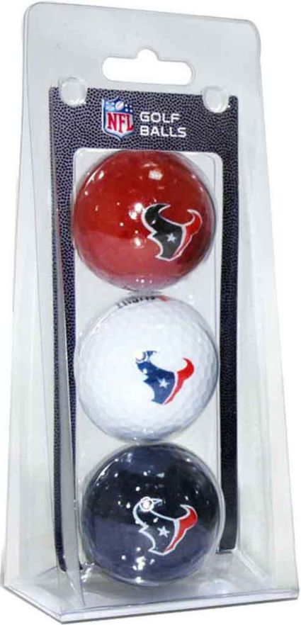 Team Golf Houston Texans Golf Balls - 3 Pack