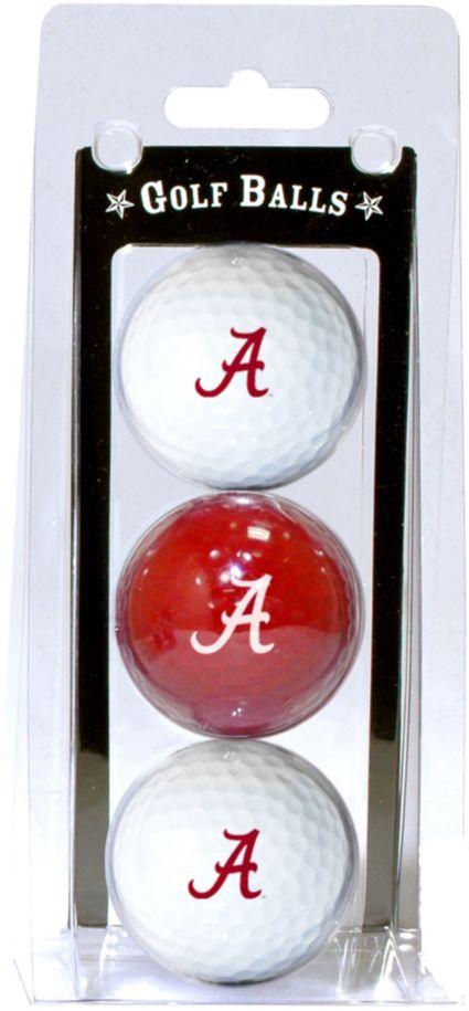 Team Golf Alabama Crimson Tide Golf Balls - 3 Pack