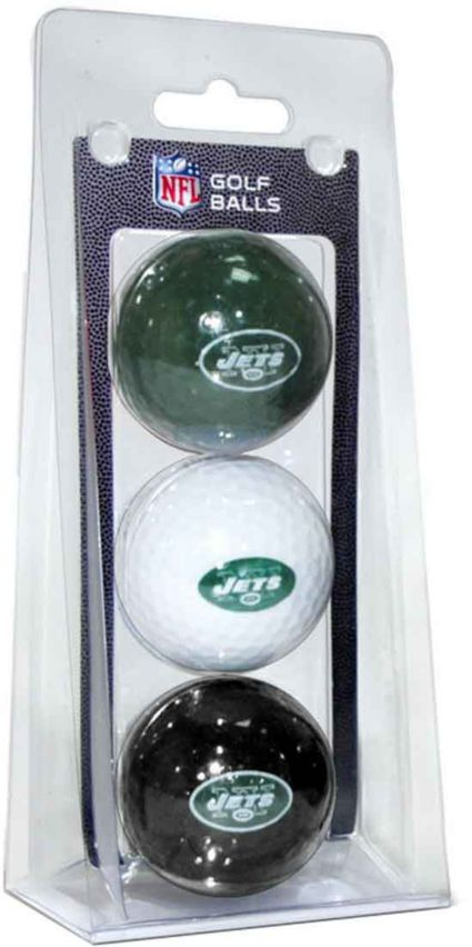 Team Golf New York Jets Golf Balls - 3 Pack