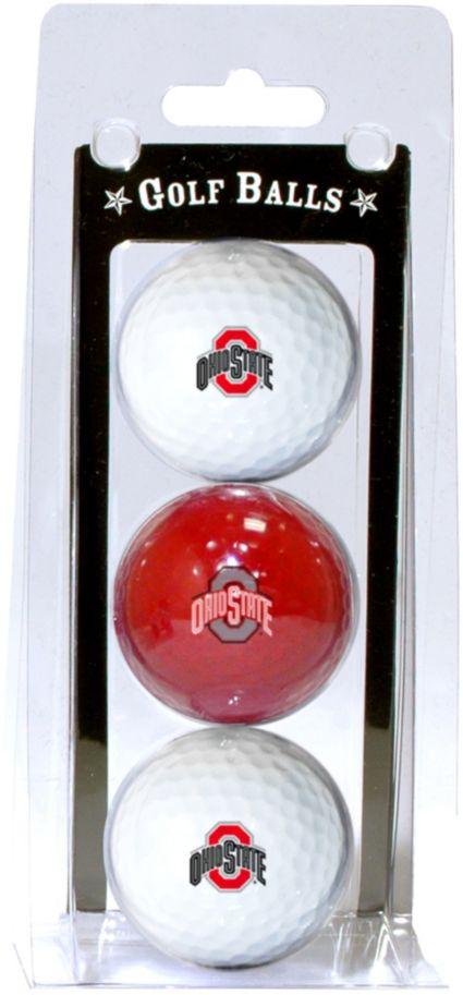 Team Golf Ohio State Buckeyes Golf Balls - 3 Pack