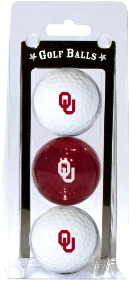 Team Golf Oklahoma Sooners Golf Balls - 3 Pack