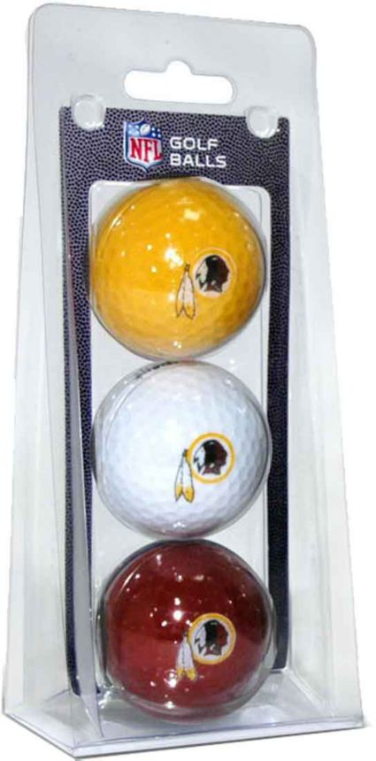 Team Golf Washington Redskins Golf Balls - 3 Pack