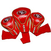Team Golf San Francisco 49ers 3-Pack Contour Headcovers