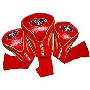 Team Golf San Francisco 49ers 3-Pack Contour Headcovers