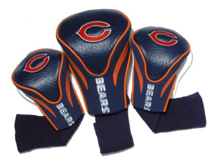 Team Golf Chicago Bears Contour Sock Headcovers - 3 Pack