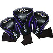 Team Golf Baltimore Ravens 3-Pack Contour Headcovers