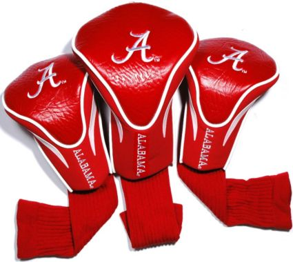 Team Golf Alabama Crimson Tide Contour Sock Headcover - 3 Pack