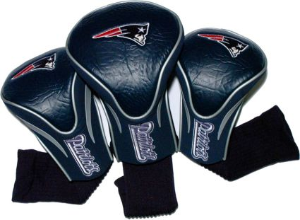 Team Golf New England Patriots Contour Sock Headcovers - 3 Pack