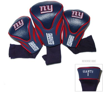 Team Golf New York Giants Contour Sock Headcovers - 3 Pack