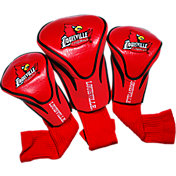 Team Golf Louisville Cardinals Contour Headcovers - 3-Pack