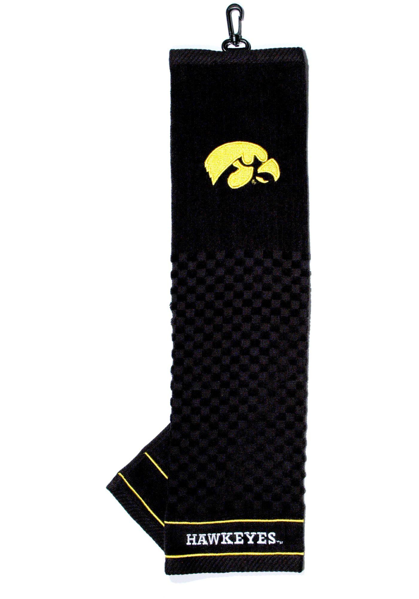 Team Golf Iowa Hawkeyes Embroidered Towel