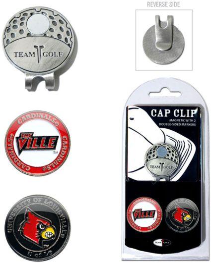 Team Golf Louisville Cardinals Cap Clip