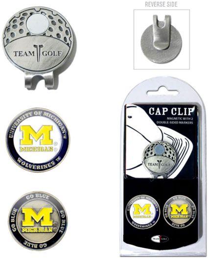 Team Golf Michigan Wolverines Cap Clip