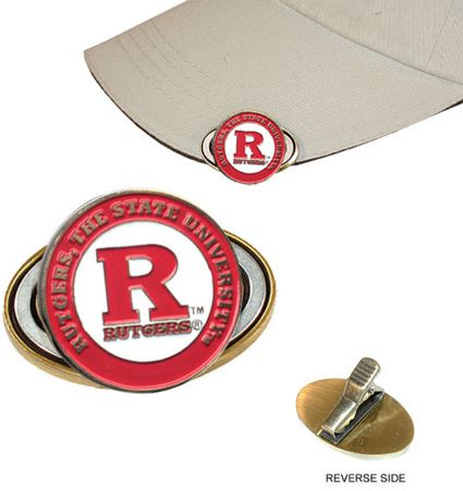 Team Golf Rutgers Scarlet Knights NCAA Cap Clip