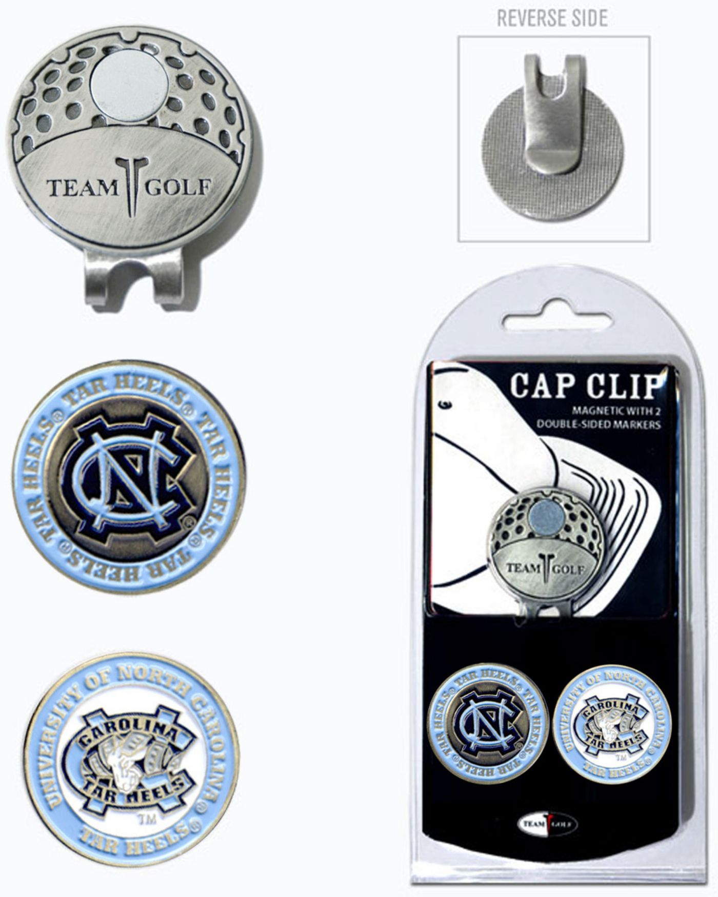 Team Golf UNC Tar Heels Cap Clip