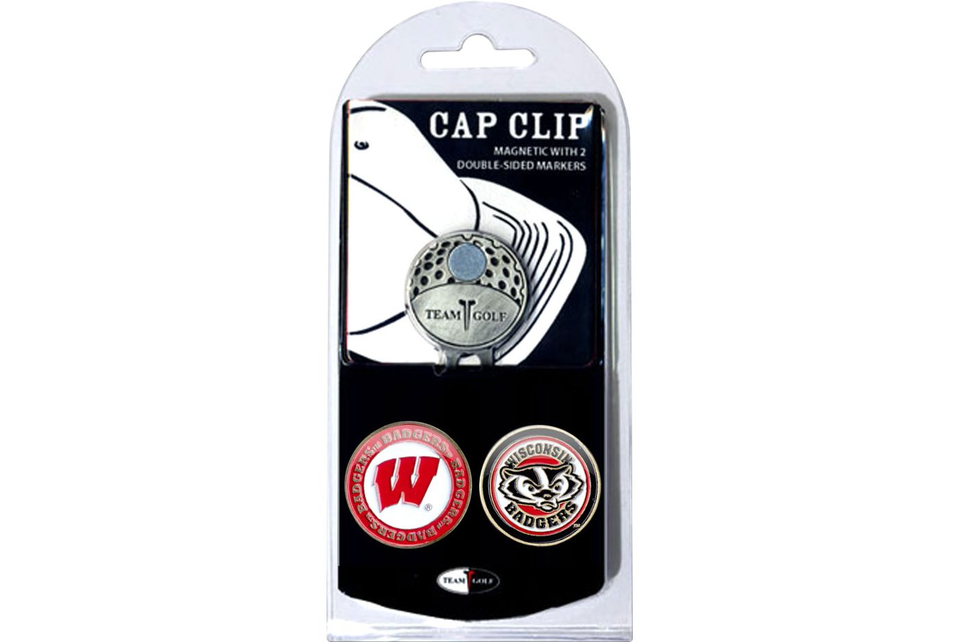 Team Golf Wisconsin Badgers Cap Clip