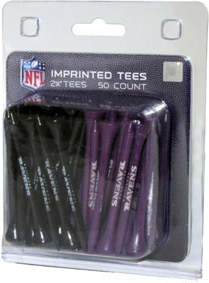 "Team Golf Baltimore Ravens 2¾"" Golf Tees - 50 Pack"