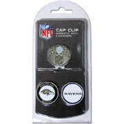 Team Golf Baltimore Ravens Two-Marker Cap Clip