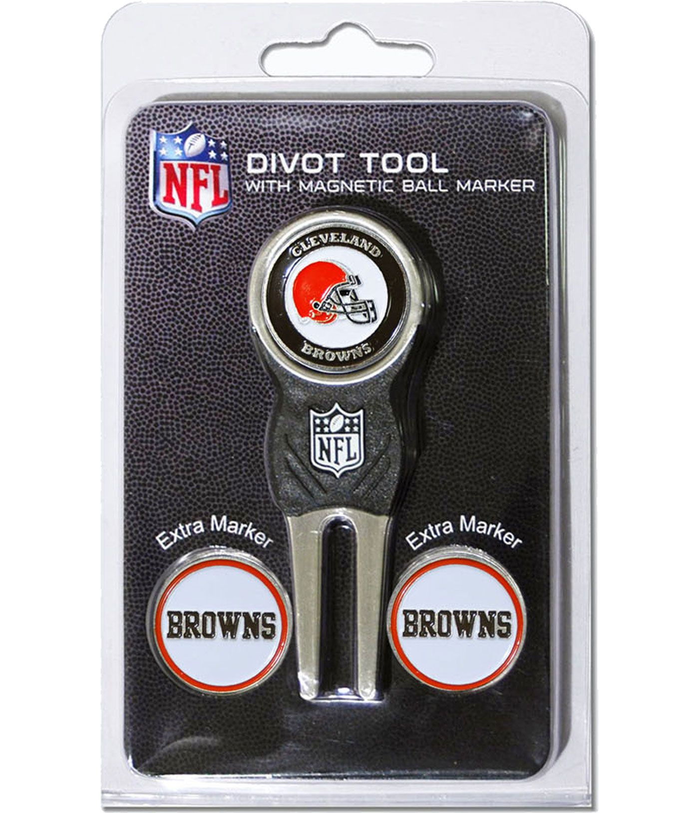 Team Golf Cleveland Browns Divot Tool and Marker Set