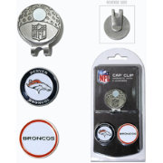 Team Golf Denver Broncos Two-Marker Cap Clip