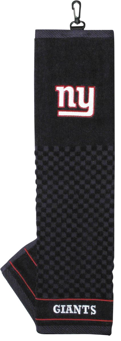 Team Golf New York Giants Embroidered Towel
