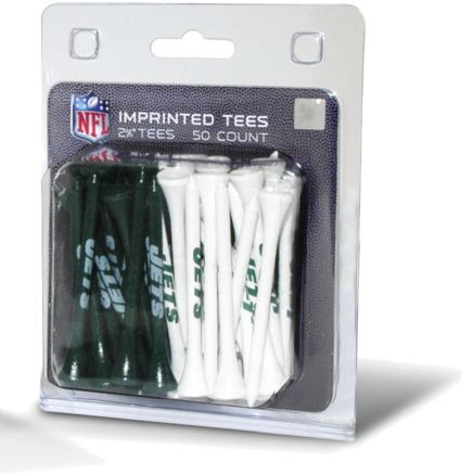 "Team Golf New York Jets 2¾"" Golf Tees - 50 Pack"