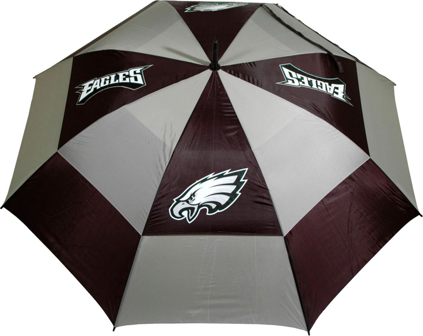 "Team Golf Philadelphia Eagles 62"" Double Canopy Umbrella"