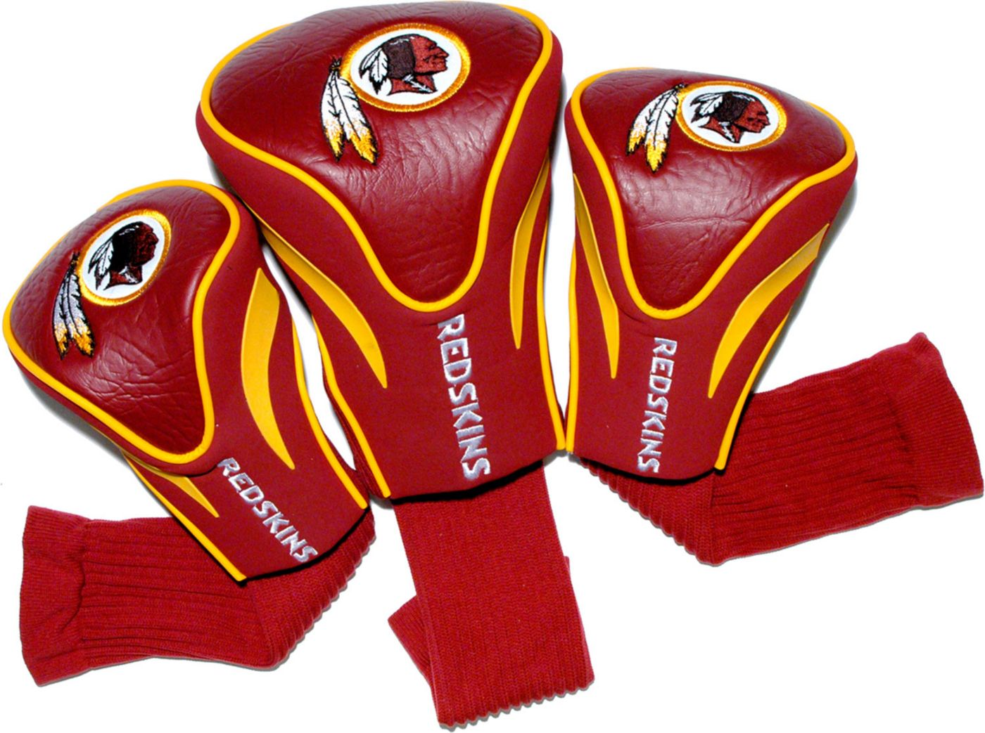 Team Golf Washington Redskins Contour Sock Headcovers - 3 Pack