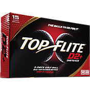 Top Flite D2+ Distance Golf Balls – 15-Pack – Prior Generation