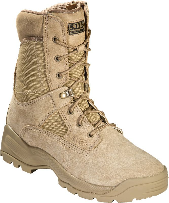 5.11 Tactical Men's A.T.A.C. 8'' Side Zip Tactical Boots, 10.5MEDIUM, Coyote thumbnail
