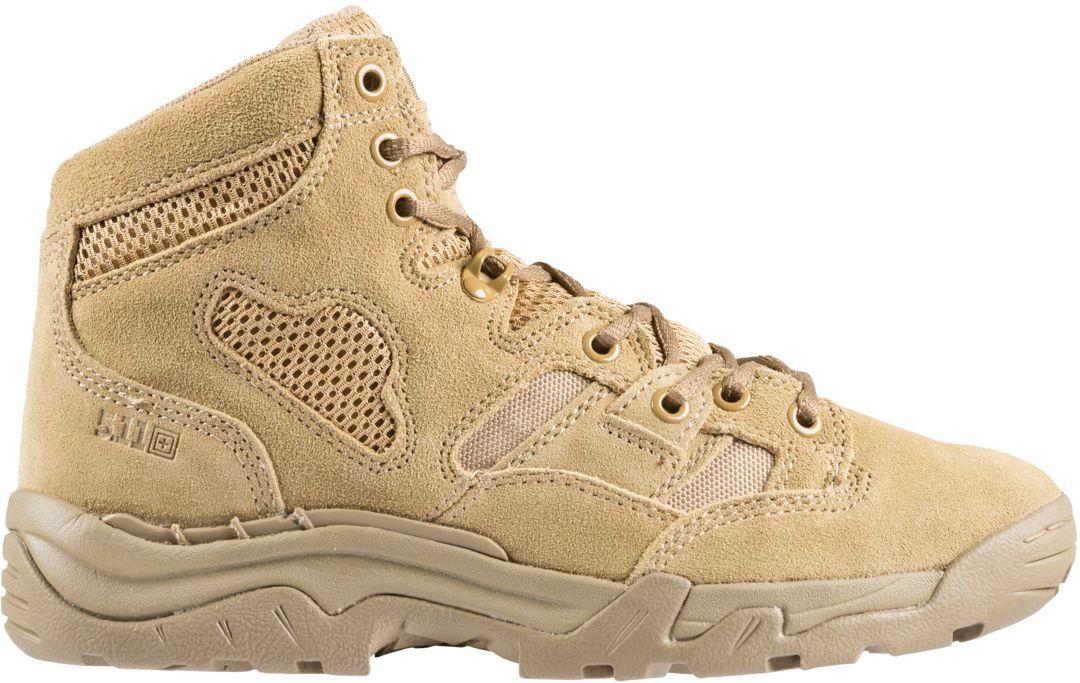 9439a9bc932 5.11 Tactical Men's Taclite 6'' Coyote Work Boots