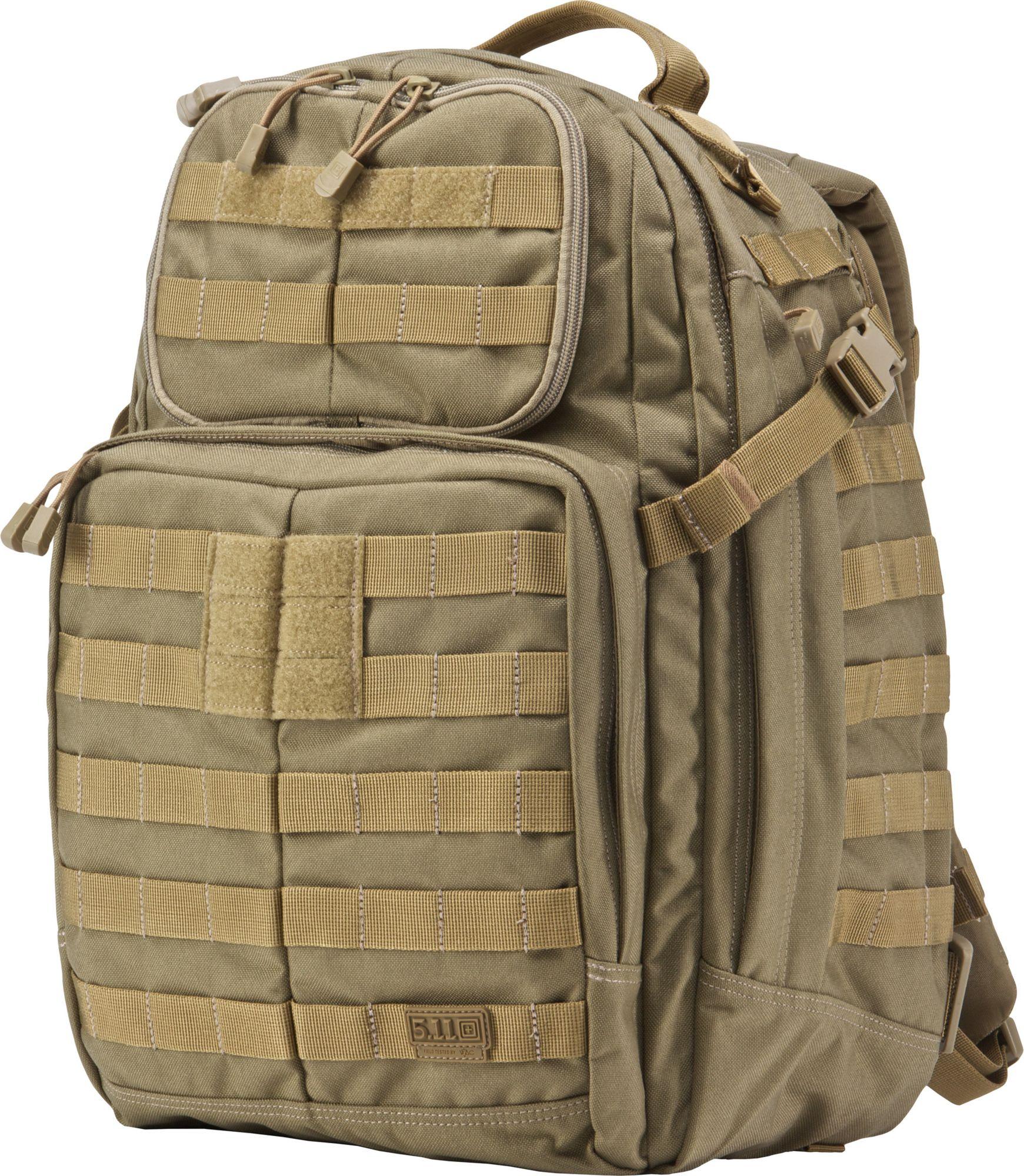 5.11 Tactical Rush 24 MultiCam Backpack, Tan