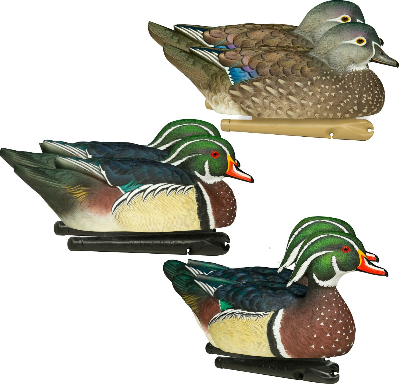 Avian-X Topflight Wood Duck Decoy - 6 pack