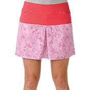 adidas Women's Tour Mixed Print Pull-On Golf Skort