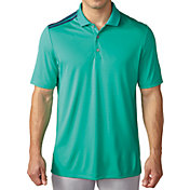 adidas Men's climacool 3-Stripes Golf Polo