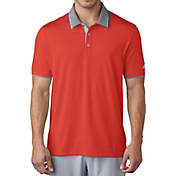 adidas men's climacool aeroknit blocked polo